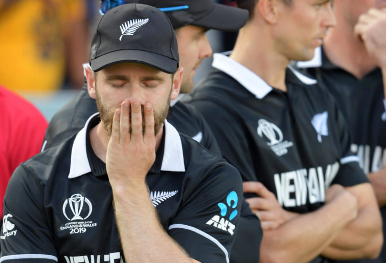 Kane Williamson after New Zealand's Cricket World Cup final loss