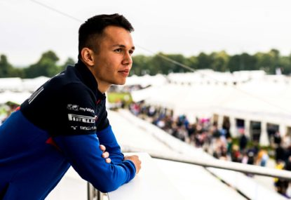 Say hello, wave goodbye: Gasly's gone, Albon's arrived