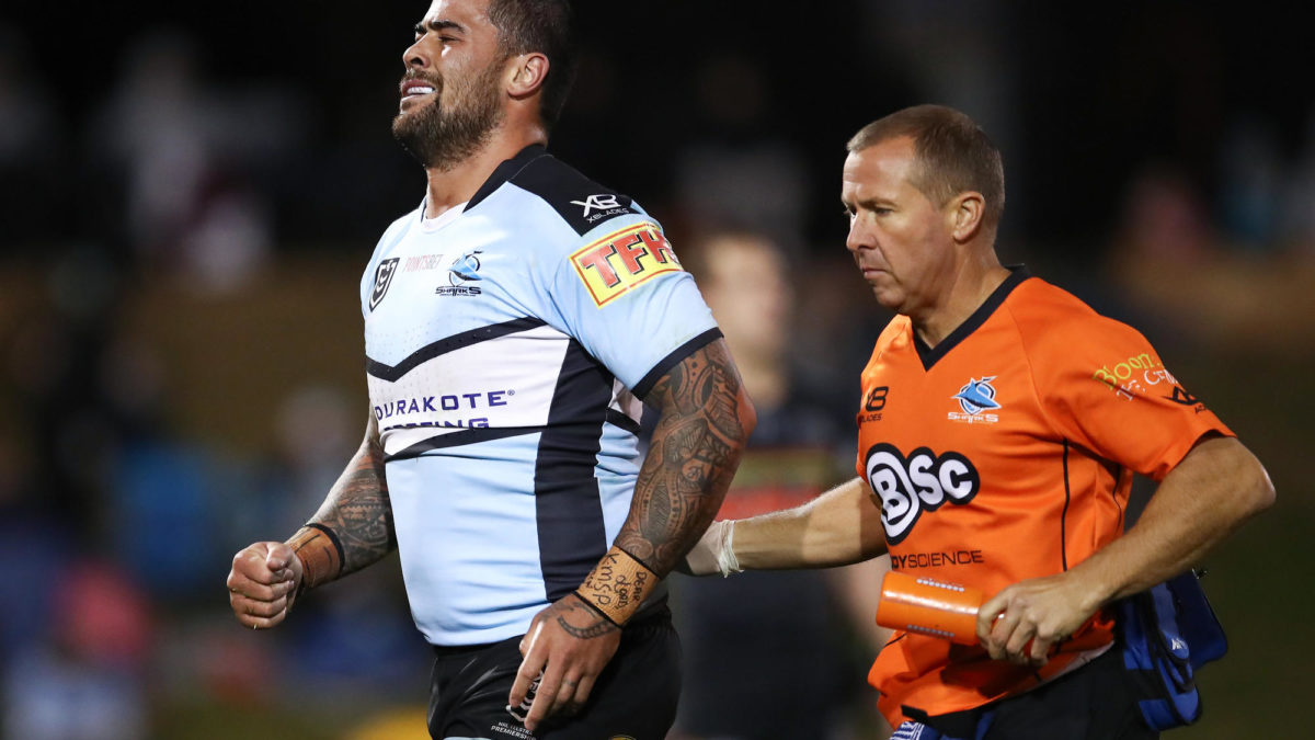 Sharks pair of Chad Townsend and Andrew Fifita in doubt for Cowboys clash