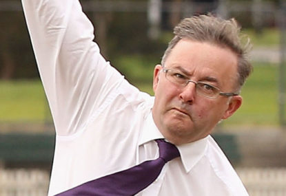 Albo: A politician who watches, plays and cares about sport