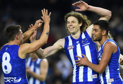 North Melbourne Kangaroos vs Melbourne Demons: AFL live scores, blog