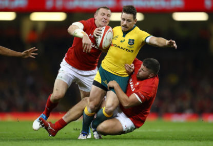 Wallabies make major changes for Wales Rugby World Cup match