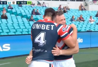 WATCH: Brett Morris scores hat trick in 12 minutes