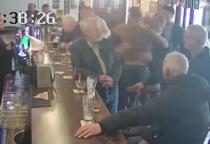 Shocking vision emerges of Conor McGregor punching an old man