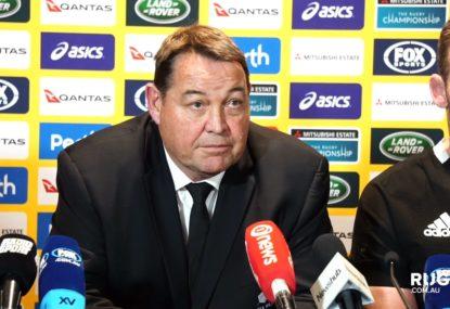 Steve Hansen calls out All Blacks pair's 'dumb footy' acts on Michael Hooper