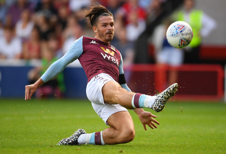 Aston Villa skipper Jack Grealish.