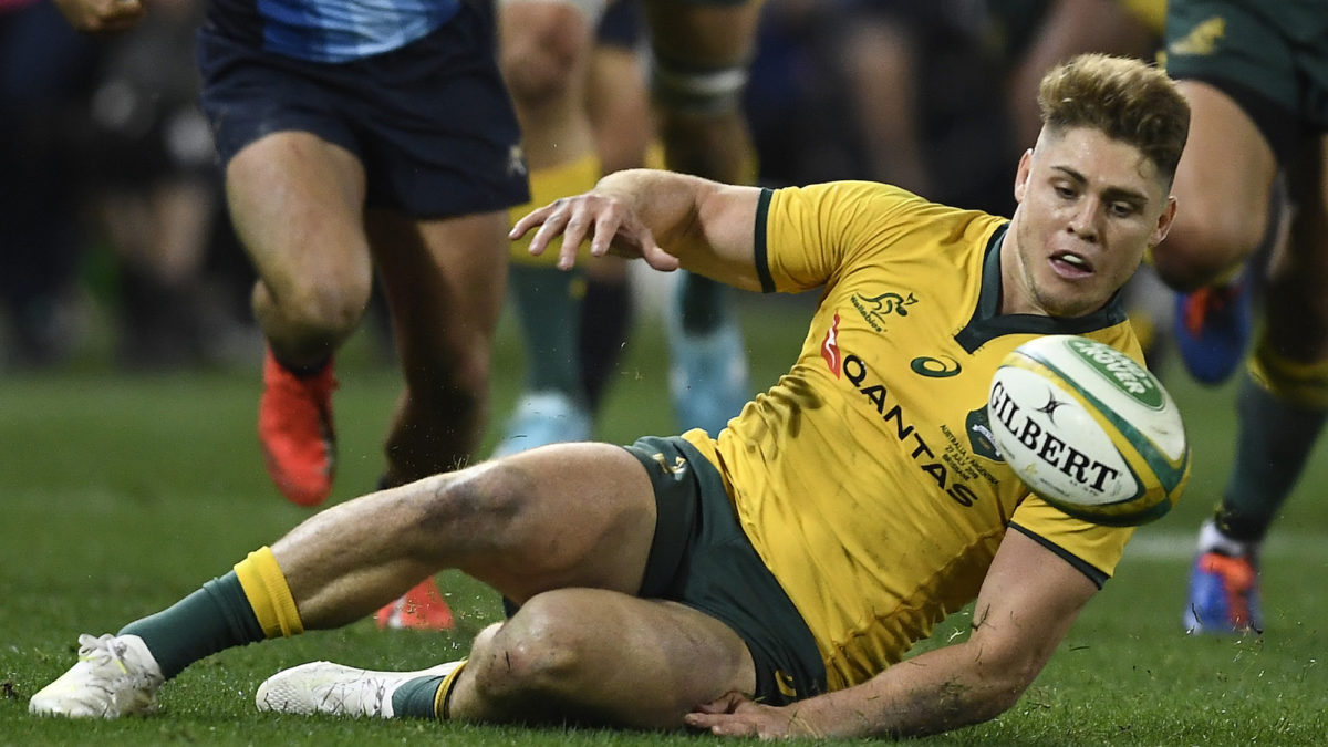 The dual pivot: The dynamic attacking structure of the Wallabies