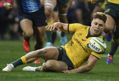 James O'Connor back at 10 for Wallabies' final Test of the year