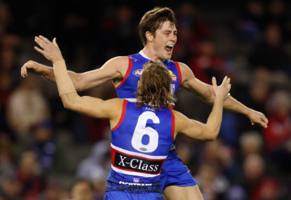 I don't have favourite players – except for Josh Dunkley