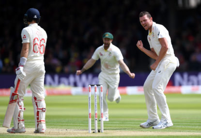 Australia's new 'Big Three' demolish England