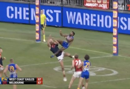 Brownlow Medal 2019: Liam Ryan wins Mark of the Year