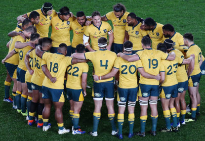 Wallabies confirm team for first Rugby World Cup pool game vs Fiji