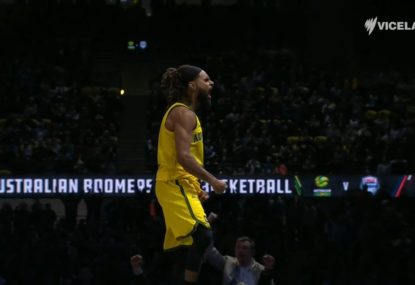Clutch Patty Mills leads Boomers to historic win over USA