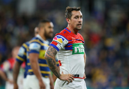 Who should succeed Mitchell Pearce as Knights captain?