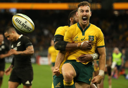 What's the pass mark for the Wallabies at the World Cup?
