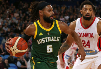 Is basketball Australia's No. 1 men's international team sport?