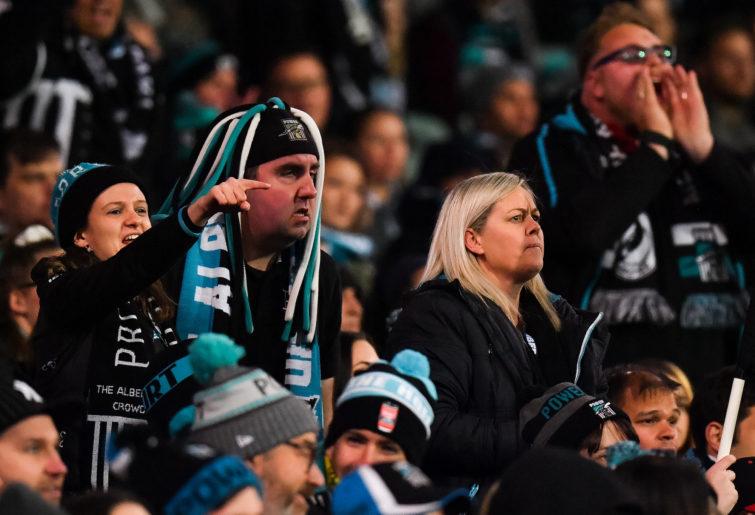 Port Adelaide fans.