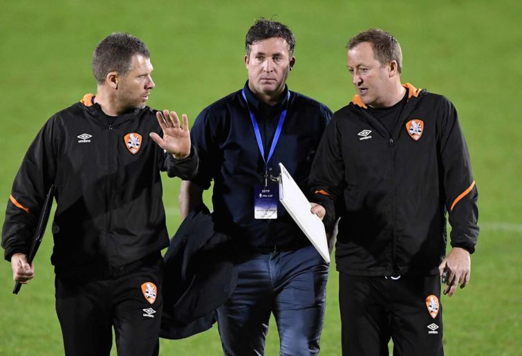 Robbie Fowler and his assistants disappointed after the Roar's loss