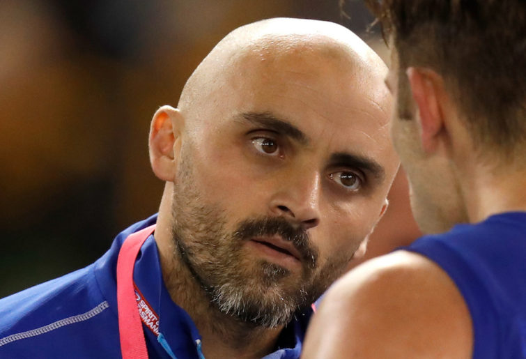 New North Melbourne coach Rhyce Shaw.