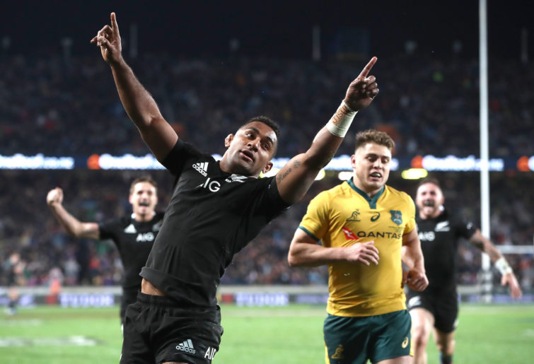 All Blacks star Sevu Reece.