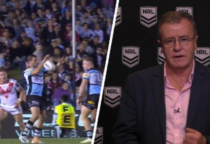 NRL give ruling on Sharks' contentious match-winner