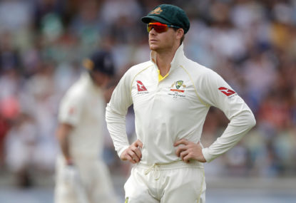 Steve Smith hits unprecedented lean spell - of three whole Tests