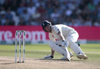 Stokes puts England in control against NZ