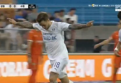 Socceroo Adam Taggart continues hot form with K-League hat-trick