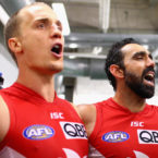 """""""A mate, a brother, was hurting"""": Ted Richards reveals what it was like at the Swans during the Adam Goodes booing saga"""