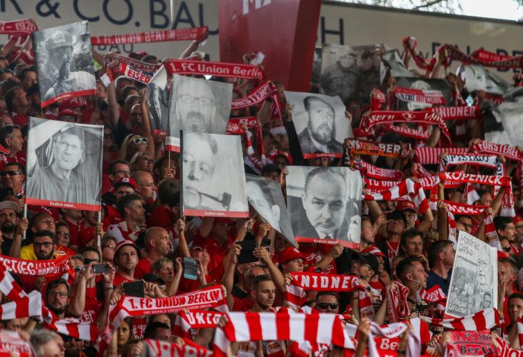 Union Berlin fans.