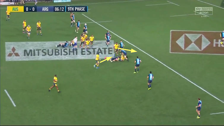 wallabies attacking breakdown analysis