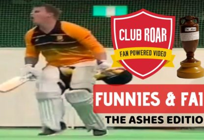 Club Roar's Funnies & Fails: THE ASHES EDITION