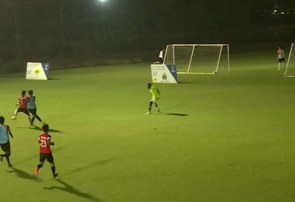Keeper flounders in no-man's land to gift opponent an easy goal