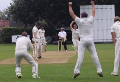Bowler gets burned on a celebra-ppeal as faint edge goes unnoticed