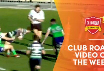 CLUB ROAR VIDEO OF THE WEEK: Winger toes the line in TIGHTEST of corner finishes