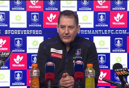 'I've never coached better': Ross Lyon