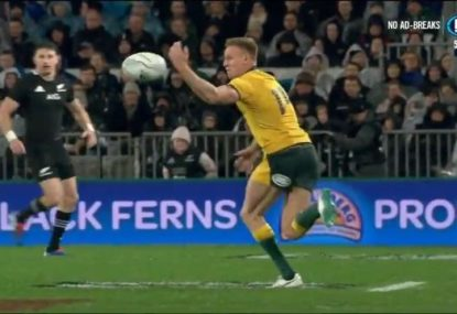 Wallabies implode as All Blacks pounce on terrible mistake