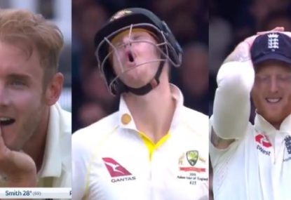 Priceless reactions all round to some more Steve Smith bizarreness