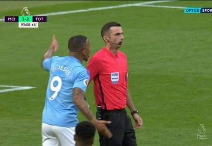 Manchester City's late match-winner controversially denied by VAR