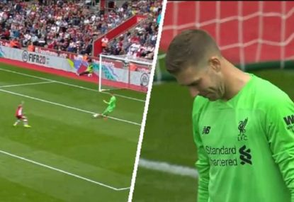 'What is he thinking?': Liverpool keeper's spectacularly bad howler