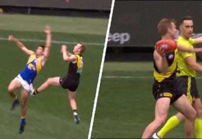 'You are joking!': Jack Riewoldt furious after being pinged under 'the Toby Greene rule'