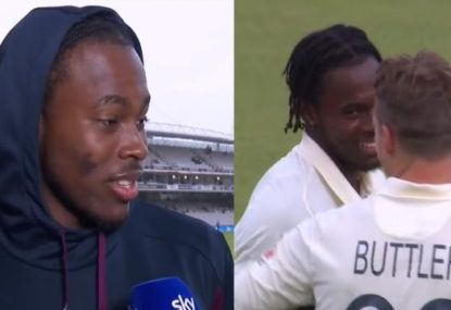 Jofra Archer opens up on his reaction to felling Steve Smith