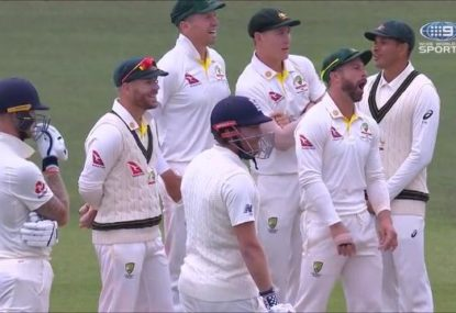 Bizarre DRS glitch delights the Aussies... and the umps