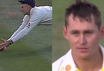 Controversial catch leaves Marnus Labuschagne absolutely filthy