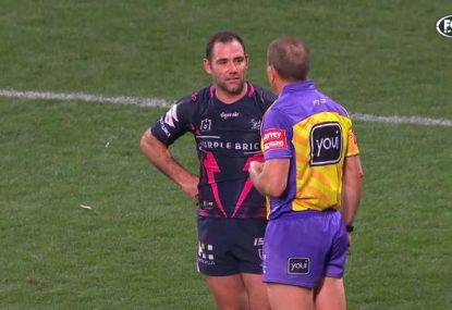 Cameron Smith's ugly tactics against young Raider