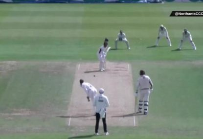 Axed England cricketer Moeen Ali decides to bowl seamers for some reason