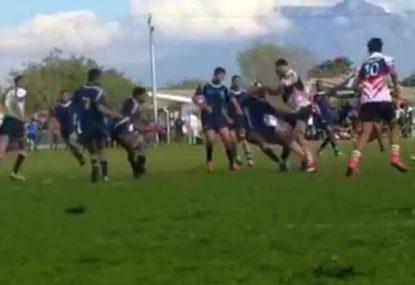 Big Boppa's defender-destroying BOOMFA sends crowd wild