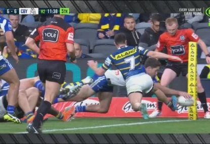Mitchell Moses gives away costly penalty try