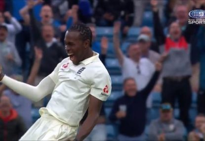 HIGHLIGHTS: Archer snags six as Aussies collapse yet again