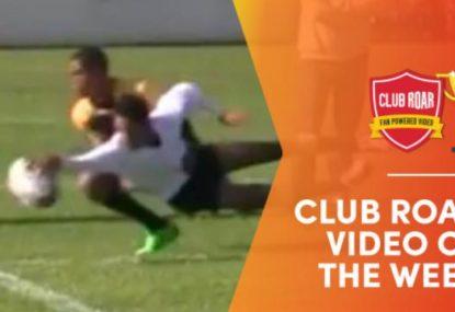 CLUB ROAR VIDEO OF THE WEEK: Superman Jr. flies for the pie in stunning corner finish